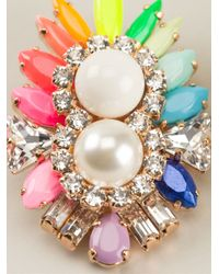 Shourouk | Multicolor 'lady' Earrings | Lyst