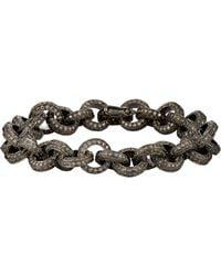 Munnu | Metallic Rolo-link Bracelet | Lyst