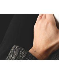 Vrai & Oro | Metallic Solitaire Diamond Bracelet | Lyst
