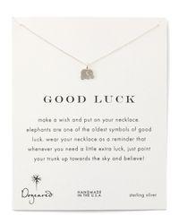 Dogeared - Metallic Good Luck Necklace - Lyst