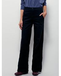 Free People | Black From Every Angle Hi Waisted Bell | Lyst