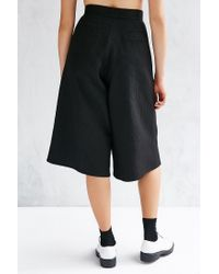 Native Youth - Black Jacquard Smart Culotte Pant - Lyst