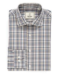 Todd Snyder | Gray Trim Fit Plaid Dress Shirt for Men | Lyst