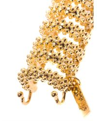 Balenciaga | Metallic Bubble Chain Bracelet | Lyst