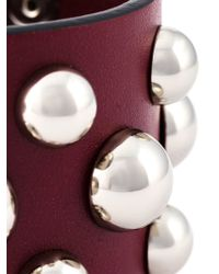 RED Valentino | Natural Studded Bracelet | Lyst