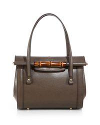 Gucci Gray New Bullet Tophandle Bag