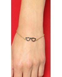 kate spade new york | Black Goreski Glasses Bracelet - Jet | Lyst