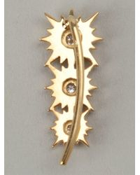 Sara Weinstock | Metallic Cuff Earring | Lyst