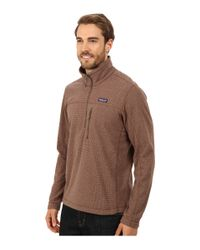 Patagonia | Brown Oakes 1/4 Zip Pullover for Men | Lyst