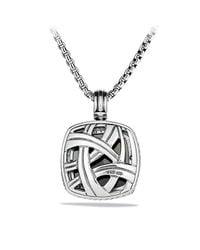 David Yurman | Metallic Albion Pendant With Diamonds, 20mm Gemstone | Lyst