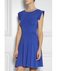 Karl Lagerfeld | Blue Barika Stretch-Jersey Dress | Lyst