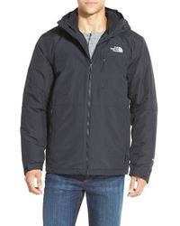 The North Face - Black 'gordon Lyons' Triclimate Waterproof Hooded 3-in-1 Jacket for Men - Lyst