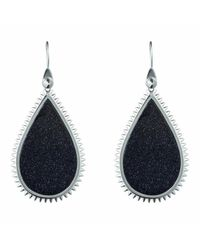 Eddie Borgo | Black Inlaid Slice Earrings | Lyst