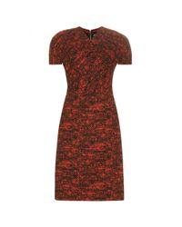 Bottega Veneta - Orange Printed Dress - Lyst