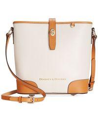 Dooney & Bourke - Brown Claremont Crossbody Bucket - Lyst