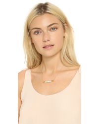 Vita Fede - Metallic Turnable Crystal Pave Necklace - Lyst