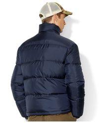Polo Ralph Lauren | Blue Quilted Trek Jacket for Men | Lyst