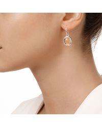 Monica Vinader | Multicolor Siren Wire Earrings | Lyst