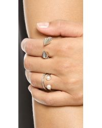 Vita Fede | Metallic Ultra Mini Ring | Lyst
