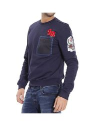 Frankie Morello | Blue Sweater for Men | Lyst