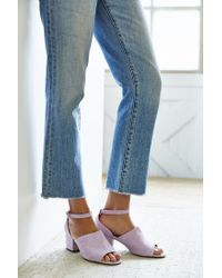 Urban Outfitters - Purple Bessie Suede Heel - Lyst