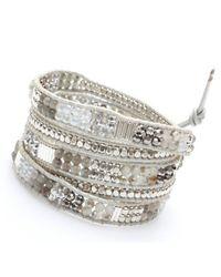 Nakamol | Multicolor Filipa Wrap Bracelet-Silver | Lyst