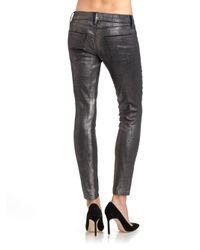 Current/Elliott | Black The Stiletto Skinny Jeans | Lyst