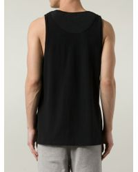 T By Alexander Wang - Black Scoop-Neck T-Shirt for Men - Lyst