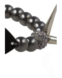 Electric Picks - Black 'idol' Bracelet - Lyst
