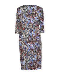 Balenciaga   Gray Short Dress   Lyst