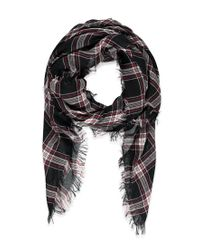 Forever 21 | Black Classic Plaid Scarf | Lyst