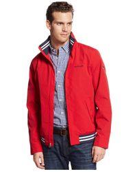Tommy Hilfiger | Red Regatta Jacket for Men | Lyst