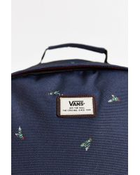 Vans - Blue Doren Ii Printed Backpack for Men - Lyst