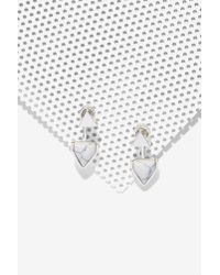 Nasty Gal - Metallic On The Howl Jacket Earrings - Lyst