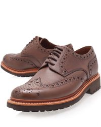 Foot The Coacher - Purple Burgundy Classic Archie Derby Shoes for Men - Lyst