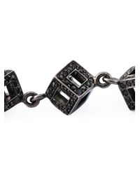 Gavello - Metallic Diamond Cubes Necklace - Lyst