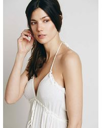 Free People | White Baby Baby Dress | Lyst