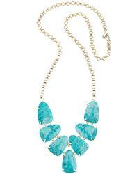 Kendra Scott - Blue Harlie Necklace - Lyst