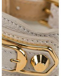Balenciaga - Gray Studded Bracelet - Lyst