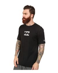 Billabong - Black Chronicle S/s Rashguard for Men - Lyst