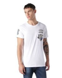 DIESEL | White T-olyss-add for Men | Lyst