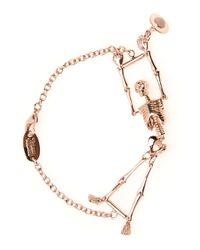 Vivienne Westwood | Pink Skeleton Bracelet for Men | Lyst