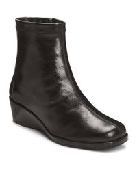 Aerosoles | Black Tembassador Booties | Lyst