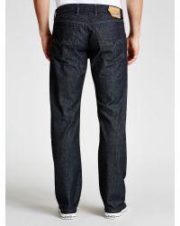 b7315d3b DIESEL Waykee 0088z Straight Jeans in Blue for Men - Lyst