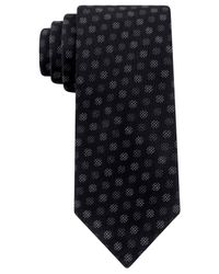 Kenneth Cole Reaction | Black Festive Dot Slim Tie for Men | Lyst