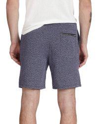 YMC - Blue Linen & Cotton Shorts for Men - Lyst