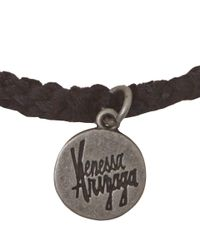 Venessa Arizaga - Black Queen Bee Friendship Bracelet - Lyst