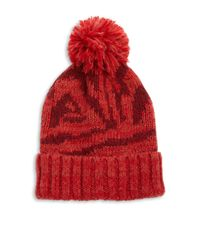 Genie by Eugenia Kim - Red Logan Abstract-patterned Beanie - Lyst