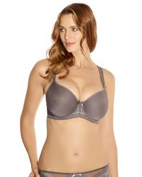 Fantasie | Gray 'rebecca' Spacer Foam Underwire Bra | Lyst
