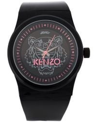 KENZO | Black 'tiger' Watch | Lyst